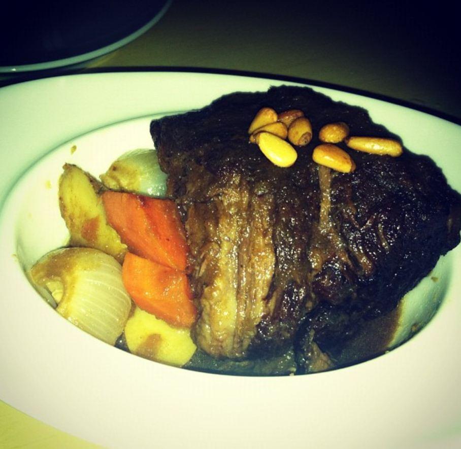 Korean Braised Short Ribs, Roasted Fingerling Potatoes, Carrots ...