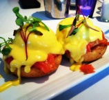 Smoked Salmon Eggs Benedict with Lemon Hollandaise