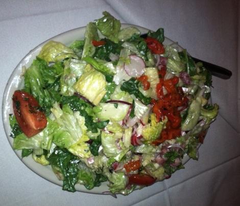 House Salad - Ham, Cheese, Tomatoes, Lettuce