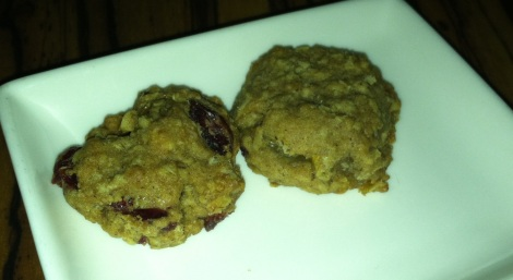 Oatmeal Cranberry-Raisin Cookie