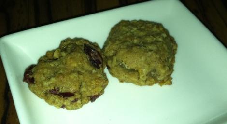 Oatmeal Cranberry-Raisin Cookie