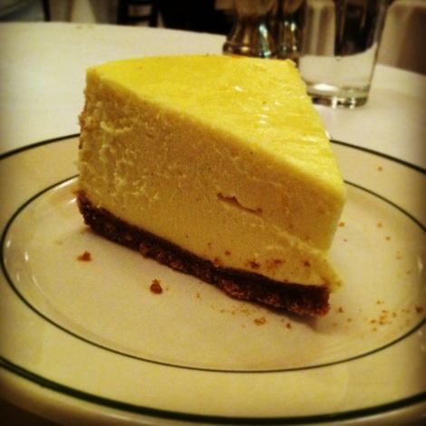 Cheesecake, Graham Cracker Crust