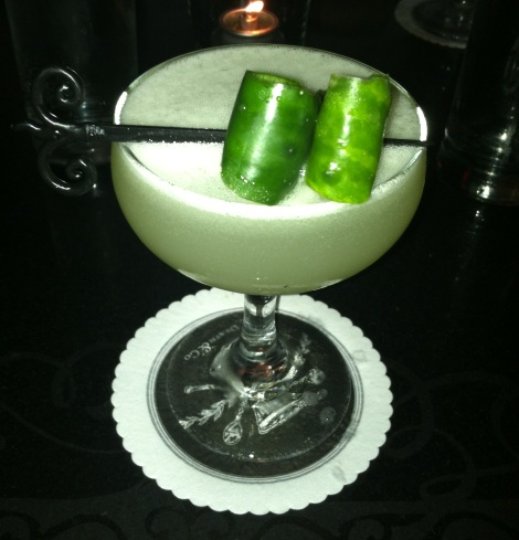 Tequila, Cucumber, Agave, Shaken, Not Stirred