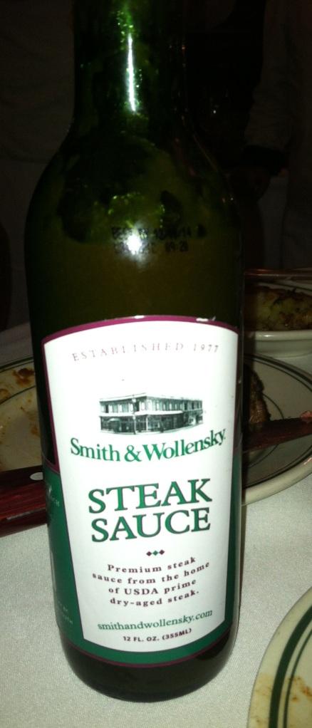 steak sauce - s&w