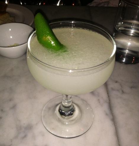 Daiquiri – Rum, Lime Juice, Sugar Cane, and Lime Peel