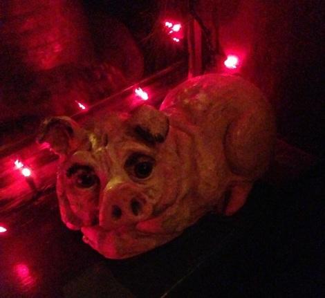 piggie - spotted pig