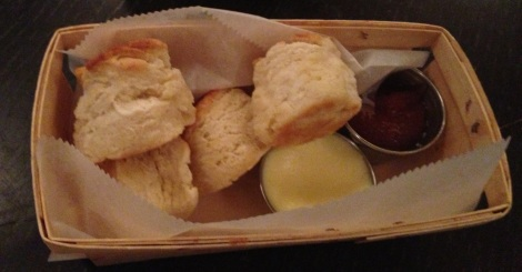 Fresh Baked Biscuits, Apple Chutney, Butter