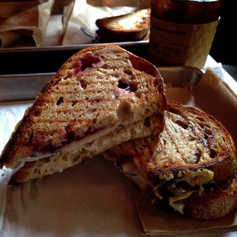 Roasted Turkey, Fresh Sage, Cranberry Sauce, Provolone