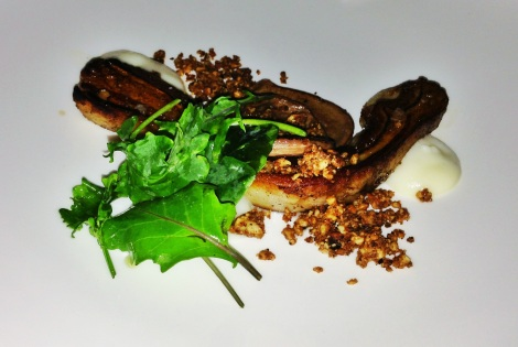 Lamb Belly, Lamb Heart, Kohlrabi, Hazelnut