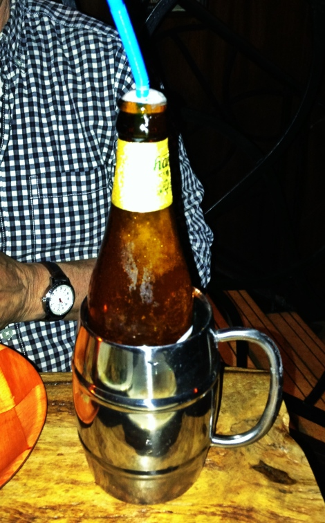 beer slushie - uncle boons