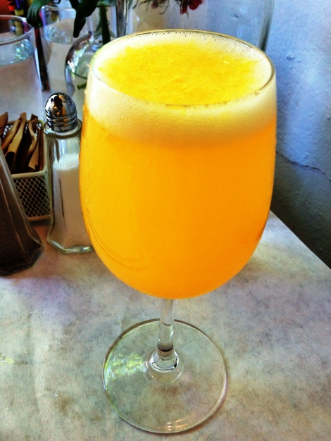 Fresh Orange Juice Mimosa