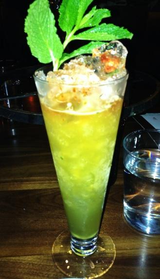 Neptune -- Bacardi Rum, Passionfruit, Honey & Mint