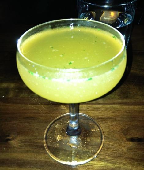 Iris -- Grey Goose Vodka, Grapefruit Juice, Honey, Mint & Grapefruit Bitters