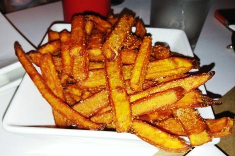 Sweet Potato Fries with Signature Sweet Salt