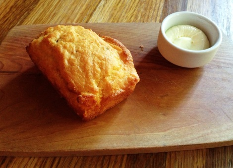 Jalapeño Corn Bread, Whipped Butter