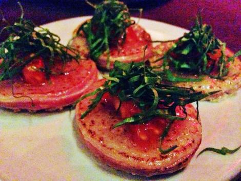 """Tuna Melt"" - Brioche, Fontina, Seared Ahi Tuna, Tomato"