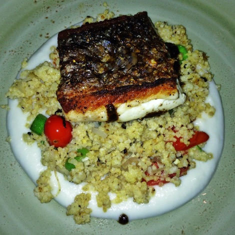 Cirtus Jerk Wild Bass from Cecil in Harlem, New York City
