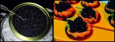 Chocolate Caviar - Chocolate Cookie with Coffee Creme and Chocolate Caviar