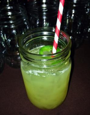 Pineapple, Tequila,  Jalapeño Margarita