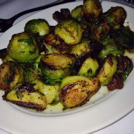 Brussels Sprouts with Crispy Panchetta