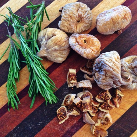 Dried Figs, Rosemary