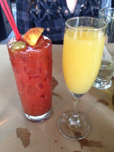 Spicy Bloody Mary & Mimosa