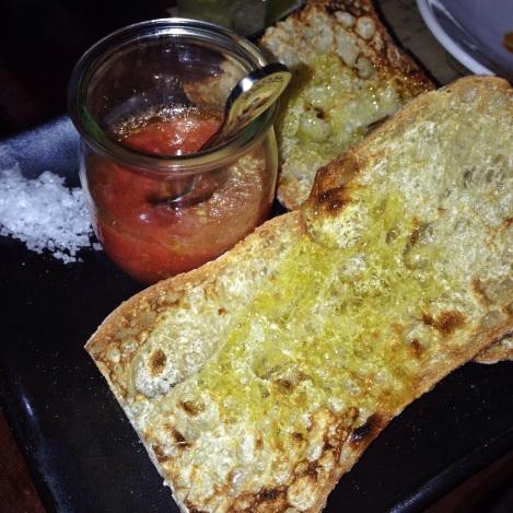 Pan Con Tomate with Sea Salt