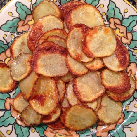 Homemade Russet Potato Chips