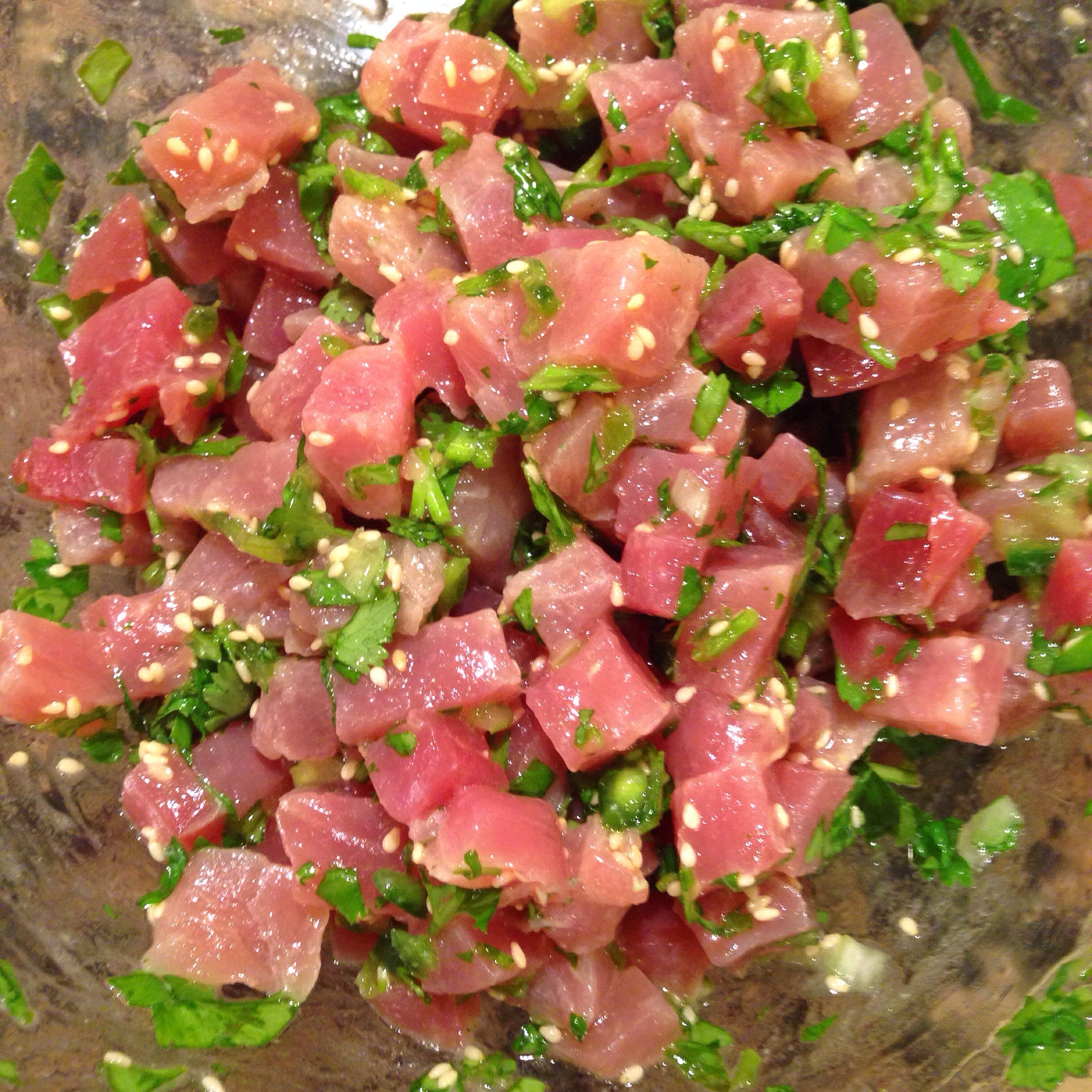 Asian Marinated Tuna Tartare | The Political Foodie