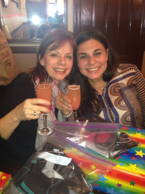 Cheers to Leigh's 21st Year! (Mom & Leigh)
