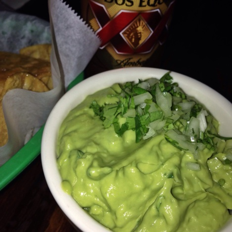 Guacamole, Chips, and Dos Equis  Taqueria LES NYC
