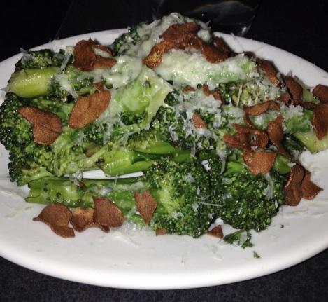 Charred Broccoli, Crispy Garlic, Pecorino Romano