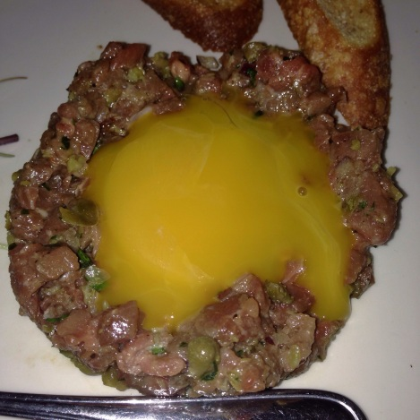 Steak Tartare with Egg