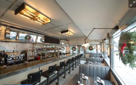 inside empire diner