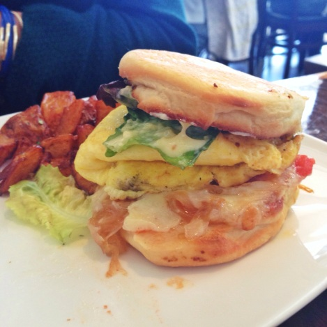 Ultimate Breakfast Sandwich - mission beach cafe san francisco ca