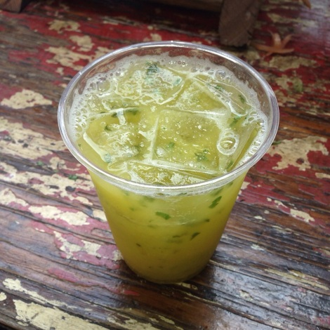 Pineapple-Mint Juice