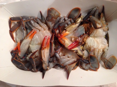 Soft Shell Crabs, Fresh from the Market