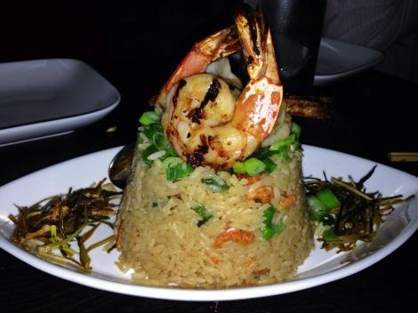 """Shrimp """"Two Ways"""" Fried Rice"""