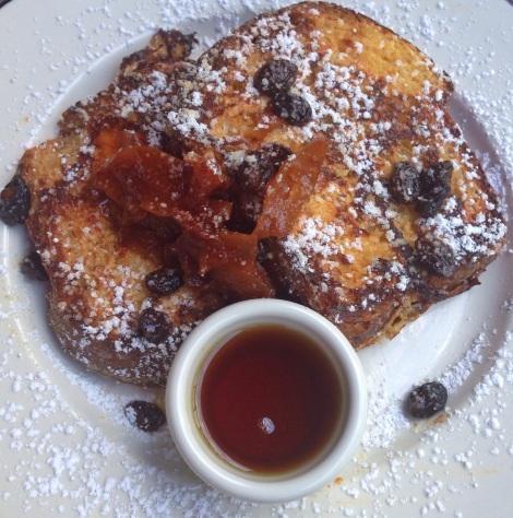 Brioche French Toast, Cinnamon Apple Compote, Homemade Brioche, Vermont Maple Syrup