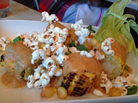 Grilled Sweet Corn, Lemon-Salted Popcorn, Peruvian Style Corn, Corn Butter