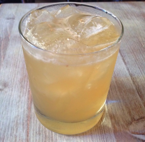 The Twisted Mustache - Russels 6 year Bourbon, Swedish Punsch, Citrus & Ginger