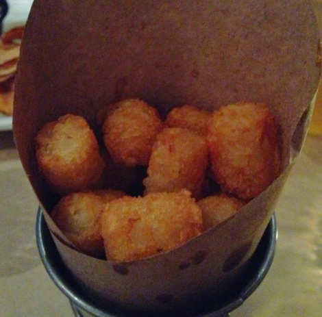 Bacon Salted Tater Tots