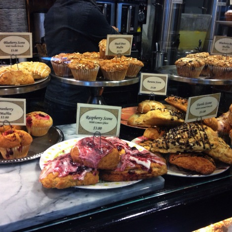display at Donna Bell Bakery