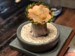 Artichoke Crisp + Pulmay Broth